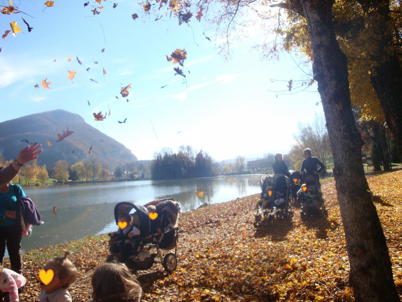 ballade au lac de La Balme