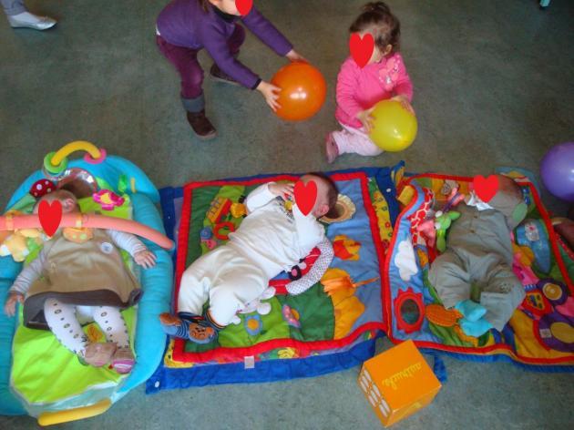 Danse des ballons et Nos 3 bébés