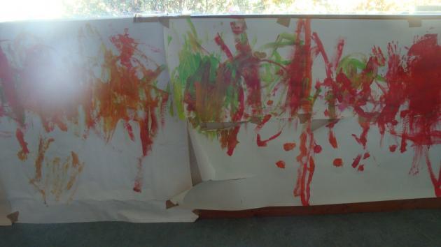 Peinture debout